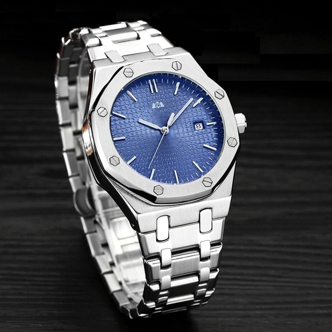 Men's Classic Stainless Steel Watch