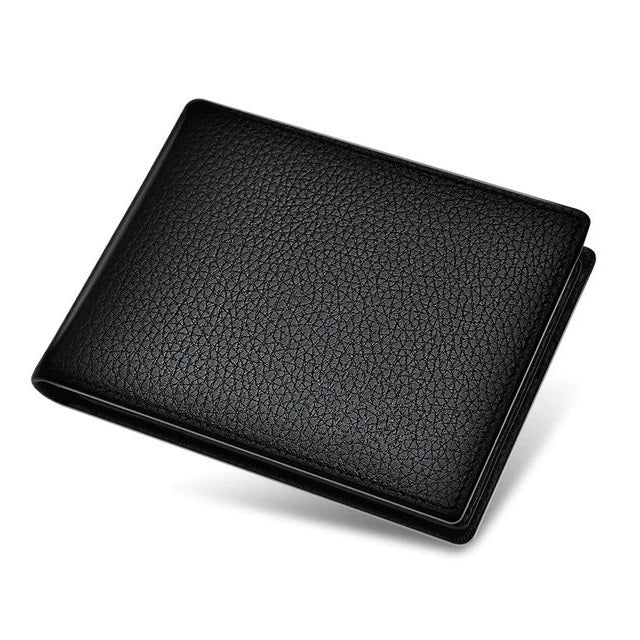 Men's Ultra-Thin Leather Wallet