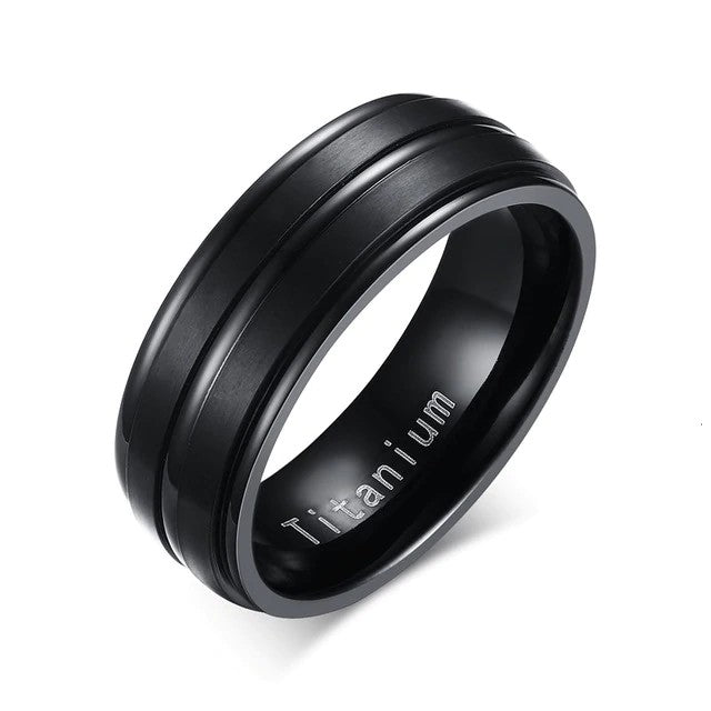 Men's Minimalist Titanium Ring