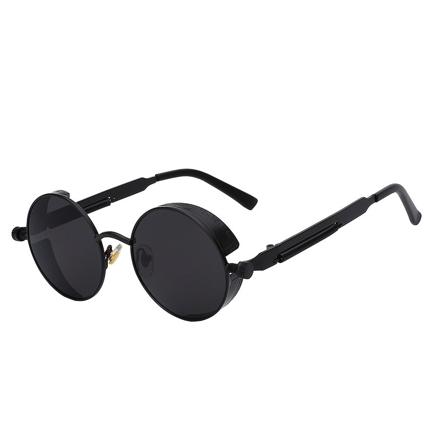 Men's Vintage Round Sunglasses