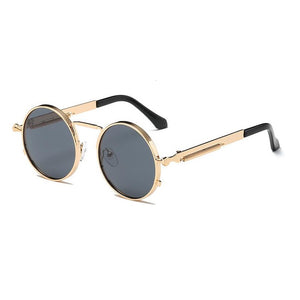 Men's Retro Round Sunglasses