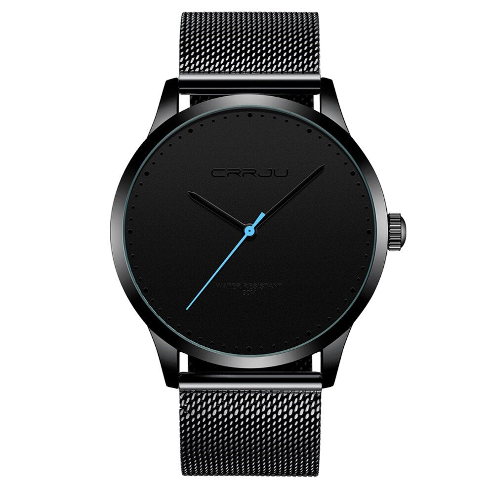 Men's Casual Mesh Strap Watch