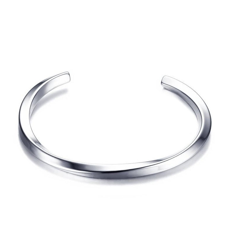 Men's Titanium Bangle Bracelet