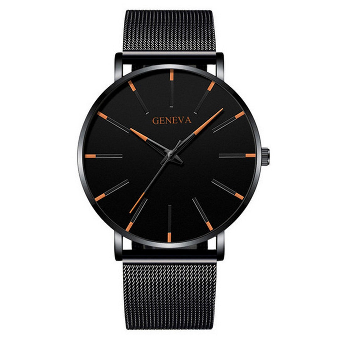 Men's Ultra-Thin Mesh Bracelet Watch