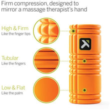 Load image into Gallery viewer, TRIGGER POINT THE GRID FOAM ROLLER ORANGE
