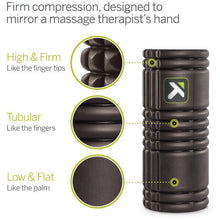 Load image into Gallery viewer, TRIGGER POINT THE GRID FOAM ROLLER BLACK