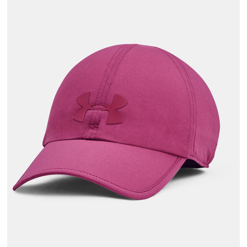 UNDER ARMOUR WOMENS RUN SHADOW CAP | PINK QUARTZ
