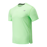 NEW BALANCE MENS IMPACT RUN TEE | ENERGY LIME