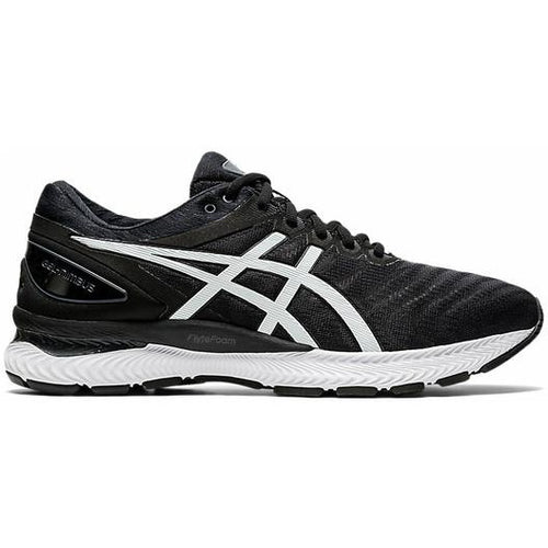ASICS MENS GEL NIMBUS 22 | BLACK/WHITE