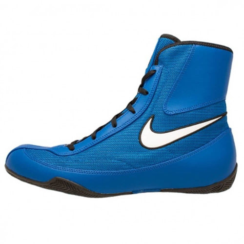 NIKE MACHOMAI BOXING BOOTS BLUE