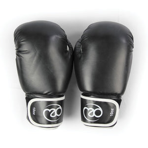 F/M PVC SPARRING GLOVES | BLACK