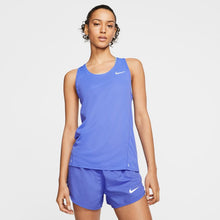 Load image into Gallery viewer, NIKE WOMENS RUNNING TANK | SAPPHIRE