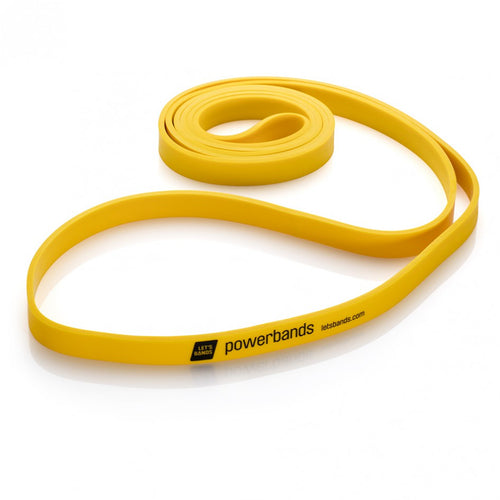LETS BANDS POWERBAND MAX YELLOW LIGHT