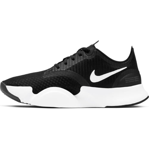 NIKE WOMENS SUPERREP GO | BLACK/WHITE