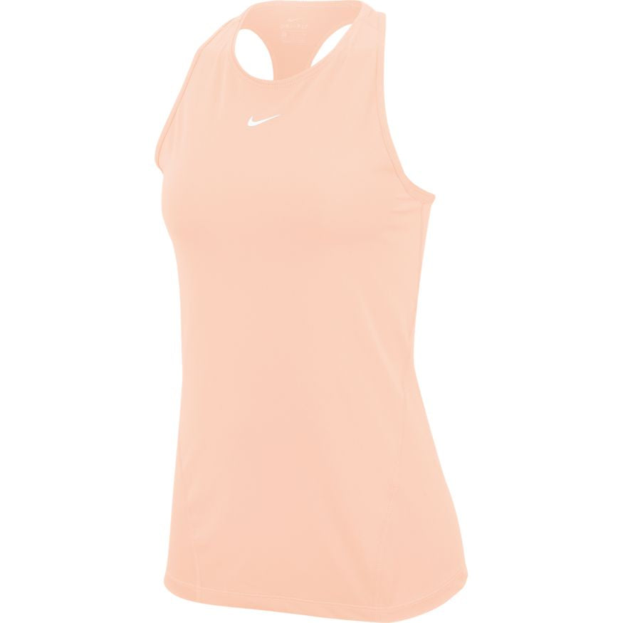 NIKE WOMENS PRO MESH TANK | WASHED CORAL