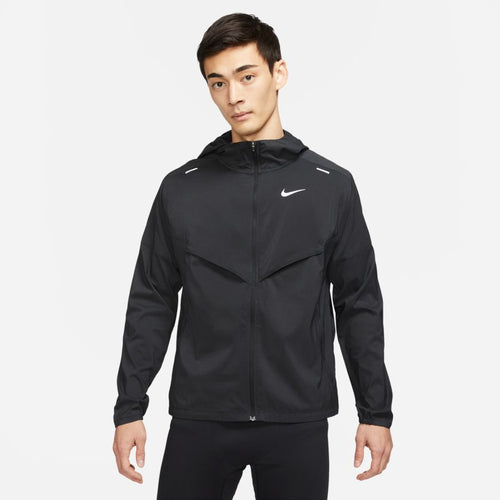 NIKE MENS REPEL WINDRUNNER JACKET | BLACK