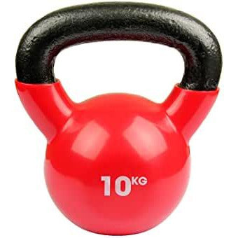 F/M KETTLEBELL 10kg RASBERRY RED--HEAVY ITEM DELIVERY- PLEASE SELECT THIS OPTION AT CHECKOUT