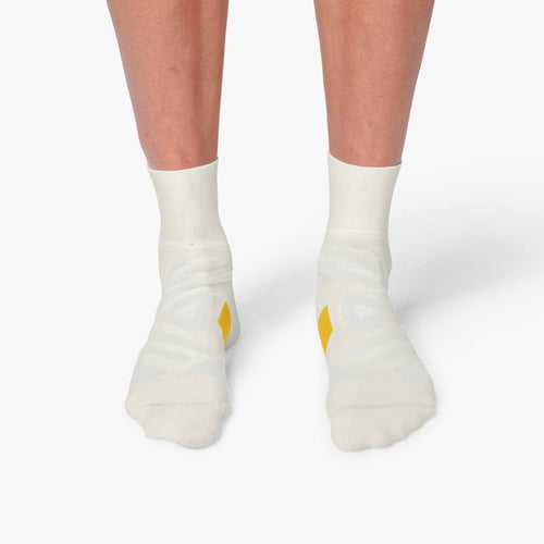 ON MENS MID SOCK WHITE | ICE