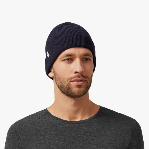 ON MERINO BEANIE | NAVY