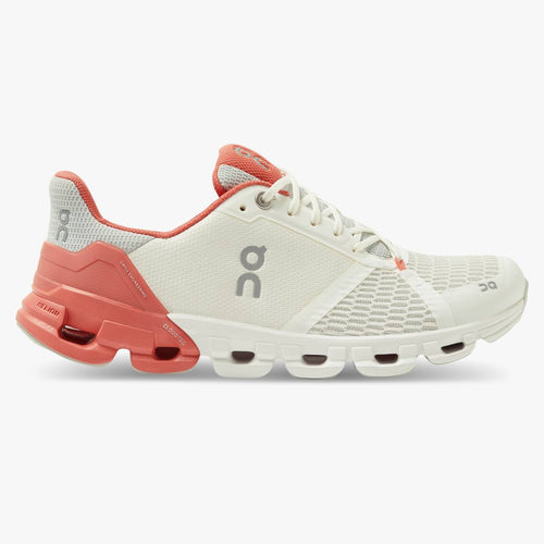 ON WOMENS CLOUDFLYER 3.0 WHITE | CORAL