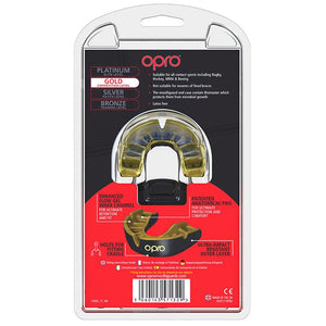 OPRO GEN4 GOLD MOUTHGUARD JUNIOR
