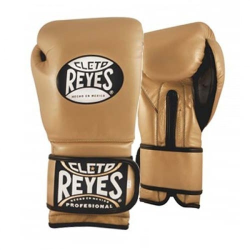 CLETO REYES LEATHER STRAP GLOVES |  GOLD