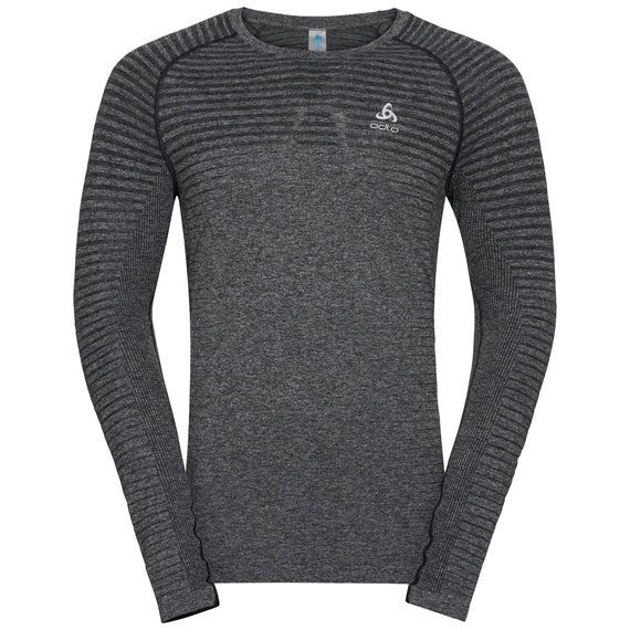 ODLO SEAMLESS ELEMENT LS TEE GREY