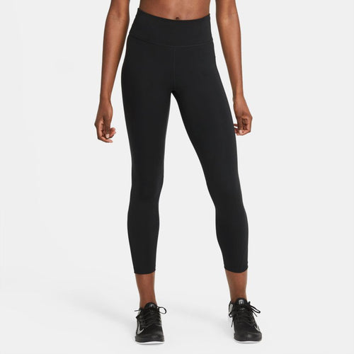 NIKE WOMENS ONE MID RISE 7/8 TIGHT | BLACK/WHITE