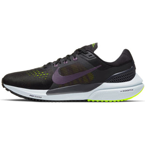 NIKE WOMENS AIR ZOOM VOMERO 15 | BLACK/DARK RAISIN