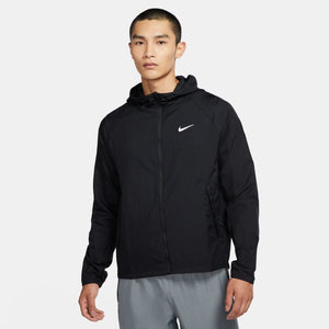 NIKE MENS ESSENTIAL RUN JACKET | BLACK