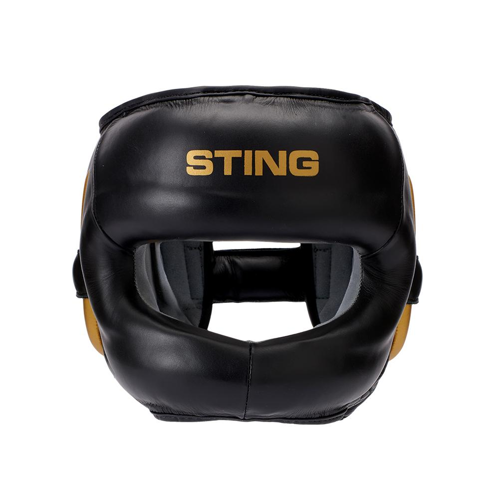 STING EVOLUTION FACE SHIELD | BLACK/GOLD
