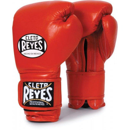 CLETO REYES LEATHER STRAP GLOVES |  RED