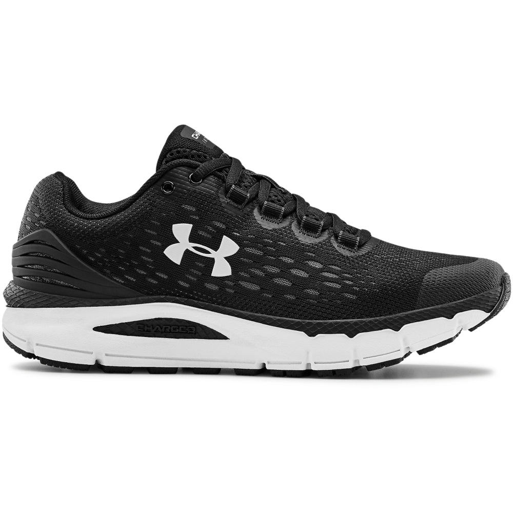 UA WOMENS  CHARGED INTAKE 4 RUNNING SHOES | BLACK