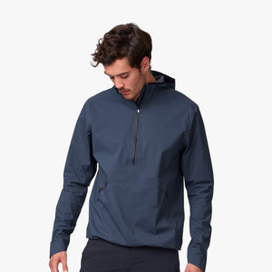 ON MENS WATERPROOF ANORAK | NAVY