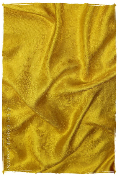 The Princess Buttercup Gold Silk Scarf
