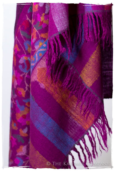 Stained Glass Jardin - Kani Grand Handloom Pashmina Shawl