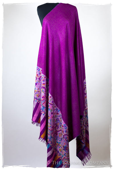 Stained Glass Luxe - Kani Grand Handloom Pashmina Shawl