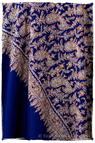 The Night at the Opera Bleu - Grand Pashmina Shawl
