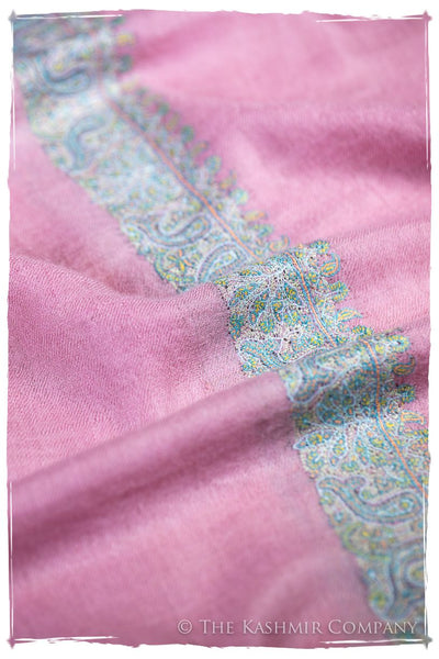 Frontière Paisley Rose Jardin L'amour Soft Cashmere Scarf/Shawl