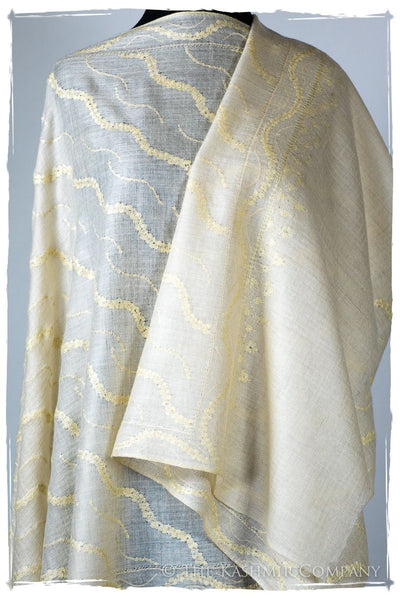 Tourmaline Arabesque L'amour Soft Cashmere Scarf/Shawl