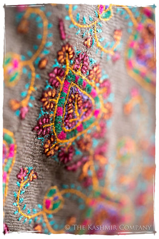 The Jewel Menagerie - Grand Pashmina Shawl