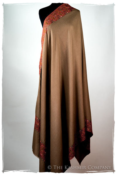 The Moroccan Dunes Frontière - Grand Pashmina Shawl