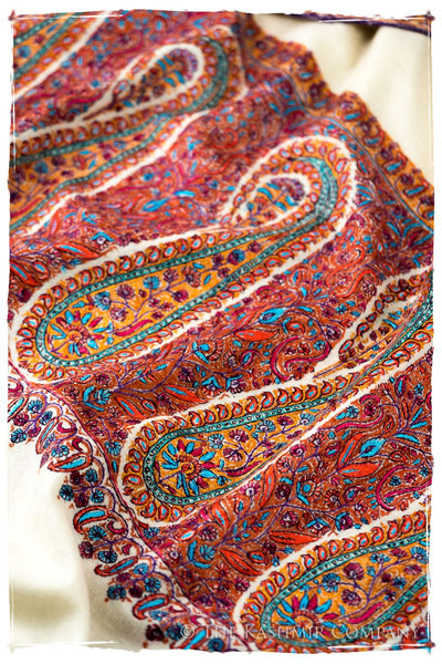 The Nadezhda Paisley - Grand Pashmina Shawl