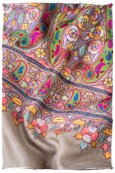 The Socialite Jacqueline - Grand Jamawar Pashmina Shawl