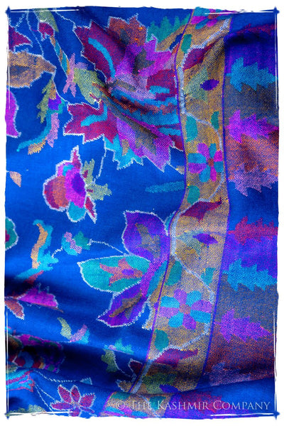 Jardin Stained Glass - Kani Grand Handloom Pashmina Shawl