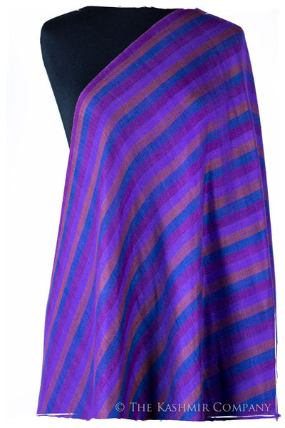 The MacLain - Handloom Cashmere Reversible Grand Shawl