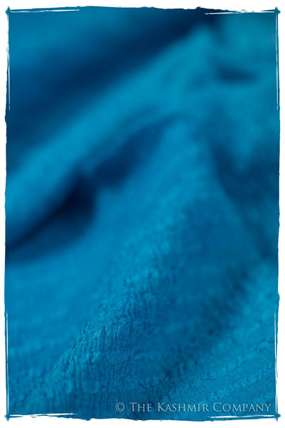 Blue Danube Crush Organic Silk Scarf