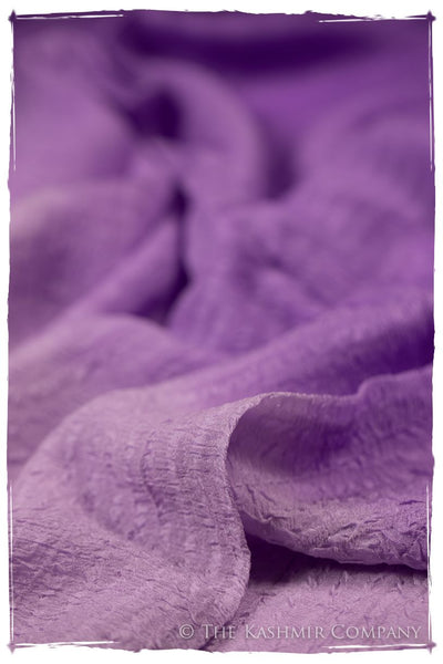 Dewberry Crush Organic Silk Scarf