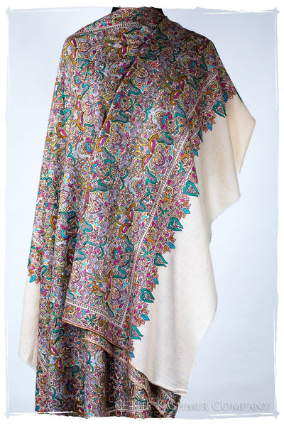 The Nature Organique Royalé - Grand Pashmina Shawl