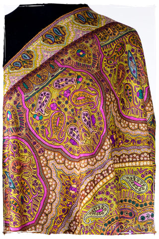 Jewels of Cleopatra - Grand Pashmina Shawl